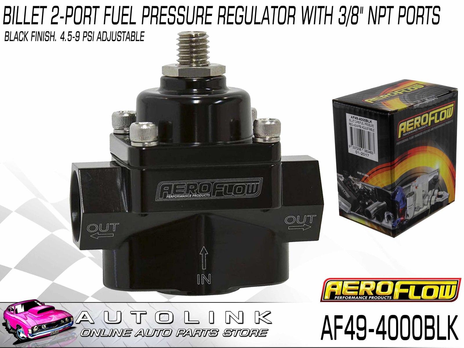 aeroflow fuel pressure regulator instructions
