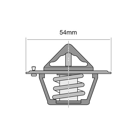 TRIDON TT1-170 THERMOSTAT 77°C OR 170 FOR FORD V8 302 351