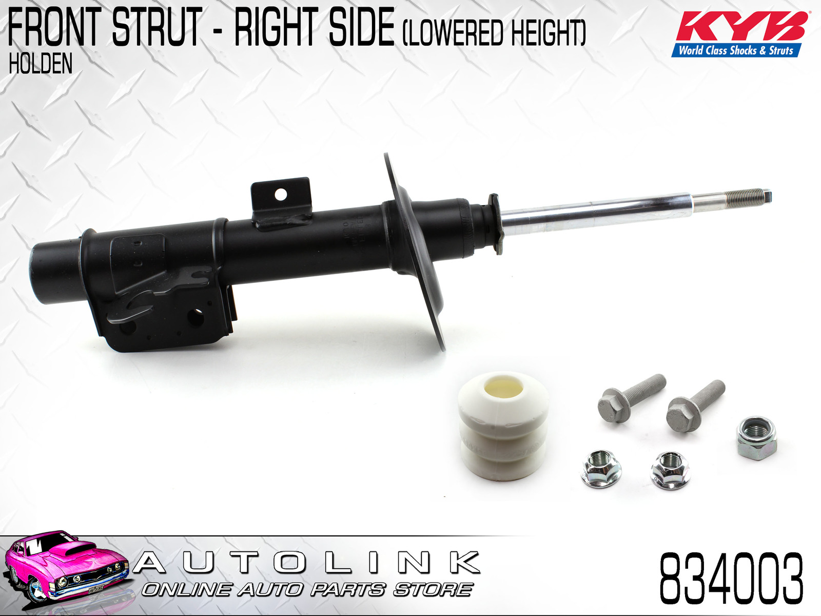 KYB STRUT LOWERED RIGHT FRONT SUIT HOLDEN VE COMMODORE