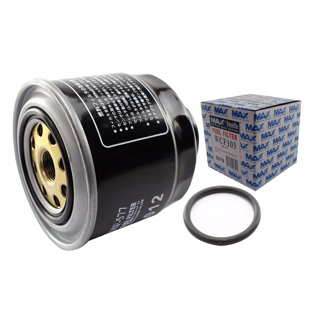 WESFIL DIESEL FUEL FILTER SUITS MITSUBISHI TRITON MH ML MN 4CYL 9/1990 -2/2015