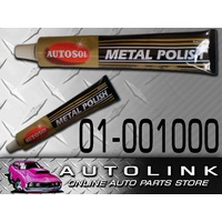 AUTOSOL ALL METAL POLISH 100g 75ML SUIT CHROME ALLOY STAINLESS STEEL CAR 4WD 4X4
