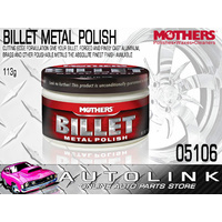 MOTHERS 05106 BILLET METAL POLISH POLISHING ALUMINIUM BRASS ALLOY 4oz 113g