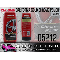 MOTHERS CALIFORNIA GOLD CHROME POLISH FOR WHEELS TRIM BUMBER BARS 355ml 05212