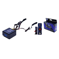HAYMAN REESE 05550 ELECTRIC TRAILER BRAKE CONTROL UNIT COMPACT UP TO 3 AXLES