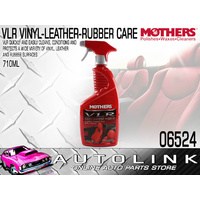 MOTHERS 06524 VLR VINYL LEATHER RUBBER CARE CLEANS CONDITIONS & PROTECTS VINYL