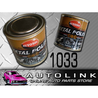 AUTOSOL METAL POLISH Tin 333g FOR POLISHING TRUCKS MOTORCYCLES MUSICAL INSTRUME