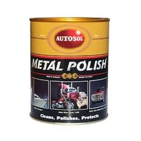 AUTOSOL 1100 ALL METAL POLISH 1kg CHROME BRASS COPPER ALLOY NICKEL S/ STEEL