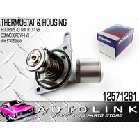 GENUINE THERMOSTAT & HOUSING TO SUIT HOLDEN STATESMAN / CAPRICE WH WK 5.7lt V8