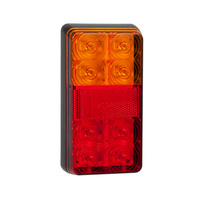 LED 154BAR REAR COMBINATION LAMP TRAILER LIGHT STOP TAIL INDICATOR x1