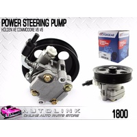 NEW POWER STEERING PUMP 135mm PULLEY FOR HOLDEN STATESMAN WM V6 & V8 MODELS 1800