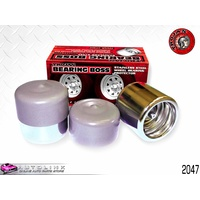 "TROJAN 2047 BEARING BOSS 52mm 2.04"" GREASABLE BEARING CAPS FOR BOAT TRAILER PAIR"