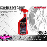 MOTHERS FX WHEEL & TYRE CLEANER - REMOVES BRAKES DUST & ROAD GRIME 710ml