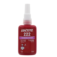 LOCTITE 222 22250 THREAD LOCKER SCREW LOCK LOW STRENGTH 50ml PURPLE LIQUID