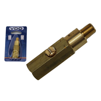 "VDO 230.031 OIL PRESSURE T PIECE ADAPTOR THREAD SIZE IS 1/8"" - 27 NPTF"