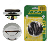 CPC 26EC NON LOCKING FUEL CAP CHROME SUIT EARLY HOLDEN - TORANA & MITSUBISHI
