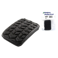 KELPRO PEDAL PAD RUBBER - BRAKE / CLUTCH SUITS FORD LASER KA KB KC KE