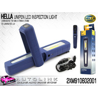 HELLA UNIPEN LED INSPECTION LAMP (80LUMENS 100LUX) WITH SPOTLIGHT COMPACT DESIGN