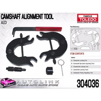 TOLEDO TIMING TOOL KIT SUIT AUDI A3 1.6L ( AEH AKL AVU BFQ ) 1997 - 2004