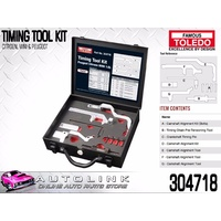 TOLEDO TIMING TOOL KIT SUIT CITROEN C3 DS3 1.6L EP6C , C4 1.6L EP6DT 2009 - 2012