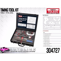 TOLEDO TIMING TOOL KIT FOR RENAULT KANGOO 1.9L DIESEL F8Q 2001 - 2004