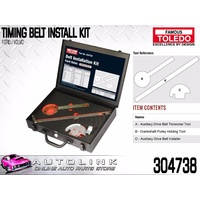 TOLEDO TIMING TOOL KIT SUIT VOLVO V70 V70T 2.0L - 2.4L B52 1997 - 2000