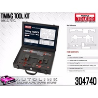 TOLEDO TIMING TOOL KIT SUIT BMW 120i E87 2.0L N46B20 DIESEL 2007 - 2011 (304740)