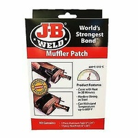JB WELD 39205 EPOXY MUFFLER EXHAUST WRAP REPAIR PATCH 315C OR 600F