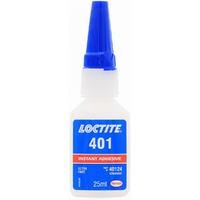 LOCTITE 401 25ml 20g INSTANT ADHESIVE SUPER GLUE ULTRA FAST 3 - 10 SECONDS 40124