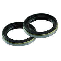 FRONT HUB OIL SEAL FOR NISSAN PATROL GQ 4.2L PETROL TB42S CARBY WAGON & UTE x2