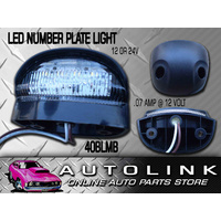 LED AUTOLAMPS LED NUMBER PLATE LIGHT LAMP 12-24 VOLT POLYCARBONATE LENS PRE WIRE