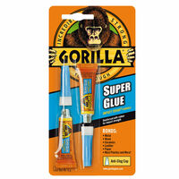 GORILLA TOUGH SUPER GLUE IMPACT TOUGH FORMULA 3G TWIN PACK 41005 NO 1 IN THE USA