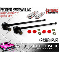 PEDDERS 424363 FRONT SWAY BAR LINK SUIT HOLDEN ADVENTRA VY VZ CROSS 6 & 8 VY x2