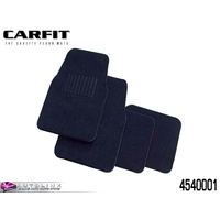 CARFIT DROVER BLACK CARPET MATS FRONT & REAR - 4 PIECE SET 4540001