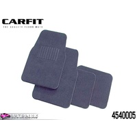 CARFIT DROVER GREY CARPET MATS FRONT & REAR - 4 PIECE SET 4540005