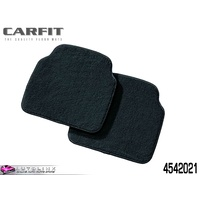 CARFIT PRESTIGE CARPET REAR FLOOR MATS 2 PIECE - BLACK 4542021