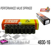 CROW CAMS PERFORMANCE VALVE SPRINGS SUIT HOLDEN 253 308 V8 SET OF 16 ( 4830-16 )
