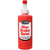 CRC DISC BRAKE QUIET 118ml 05016 STOPS BRAKE SQUEALS AND SQUEAKS SQUEEZE PACK