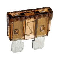 NARVA 52807BL STANDARD BLADE FUSE PACK 7.5A BROWN COLOUR PACK OF x5