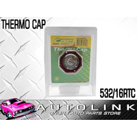 CPC 532-16 THERMO RADIATOR CAP RED W/ BUILT IN TEMP GAUGE 16PSI REPLACES 532-16
