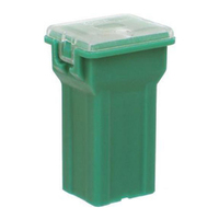 NARVA 53440BL FUSIBLE LINK FUSE PLUG IN MINI FEMALE TYPE 40A GREEN COLOUR