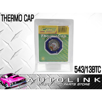 CPC 543-13BTC THERMO RADIATOR CAP BLUE BUILT IN TEMP GAUGE 13PSI REPLACES 543-13