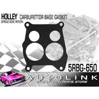 HOLLEY CARBURETTOR BASE GASKET - TO SUIT 4 BARREL SPREAD BORE PATTERN x1