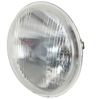 "Halogen 7"" High Low Beam Insert 178mm Head Lamp with H4 & Parker Globe x 1"