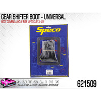 "SPECO GEAR SHIFTER BOOT - UNIVERSAL , COVERS HOLE SIZE: 3-1/2"" x 4-1/2"" 621509"