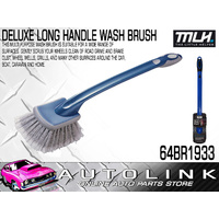 DELUXE LONG HANDLE WASH BRUSH NON-SLIP COMFORT GRIP AND LIGHTWEIGHT DESIGN