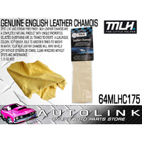 MLH LEATHER CHAMOIS - ABSORBS 6 TIMES ITS WEIGHT IN WATER SIZE 1.75sq 64MLHC175