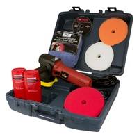 WAX ATTACK PROFESSIONAL POLISHER KIT 600W 2500-6500 RPM 240V POLISH & PADS INC