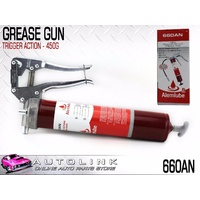 ALEMITE 660AN TRIGGER ACTION GREASE GUN - HEAVY DUTY WITH 30cm EXTENSION HOSE