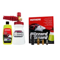 Mothers 6730100 Blizzard Wizzard Foam Cannon Gun Kit