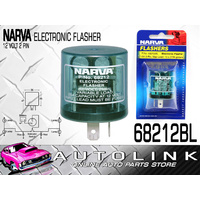 NARVA 68212BL ELECTRONIC FLASHER 12V TWO PIN SUIT INDICATOR / HAZARD SYSTEMS